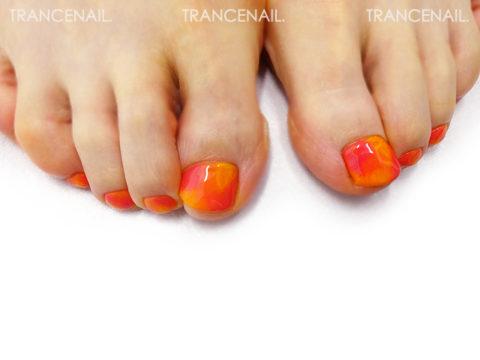 タイダイオレンジ