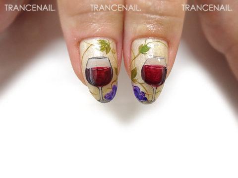 洋酒と葡萄_2
