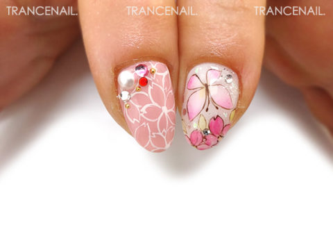 蝶と桜_2